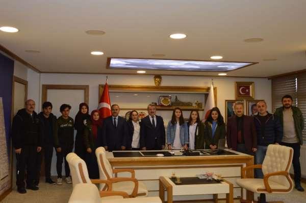 """Başkan Özdemir: """"Her zaman spor ve sporcuya destek olacağız"""""""