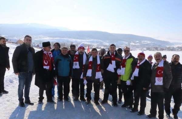 Başkan Şayir, Sarıkamış şehitleri için yürüdü