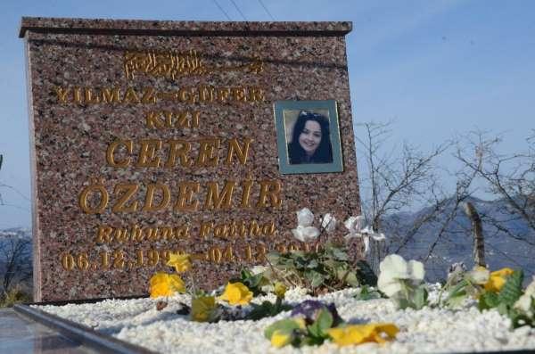 Ceren'in sosyal medya paylaşımı, mezar taşına işlendi