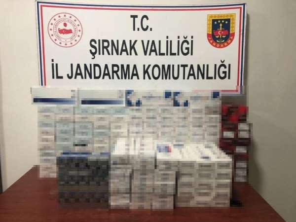 Şırnak'ta kaçakçılık ve terörle mücadele operasyonu: 33 gözaltı