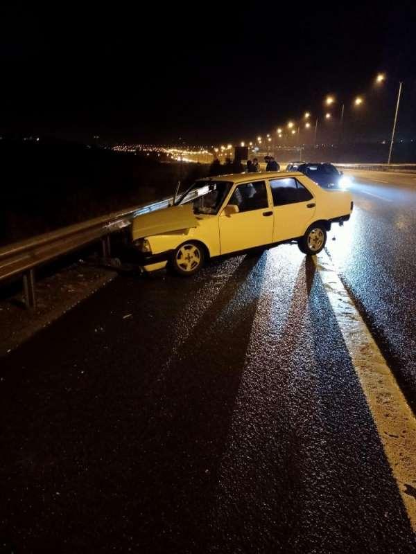 Başkentte iki ayrı trafik kazası: 2 yaralı