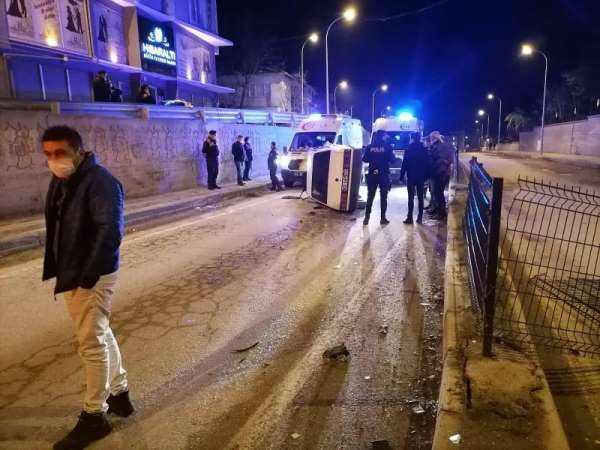 Emette trafik kazası: 3 yaralı
