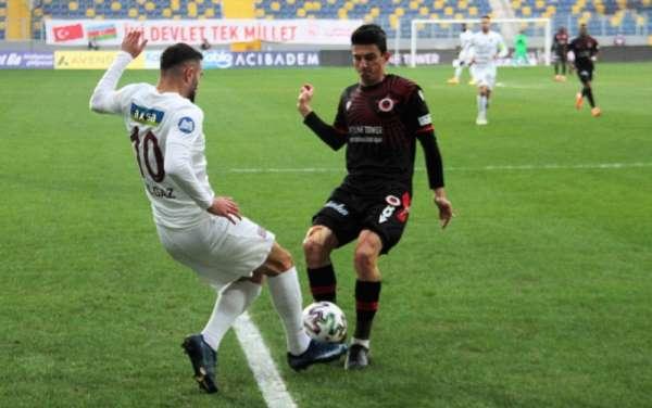 Süper Lig: Gençlerbirliği: 1 - A.Hatayspor: 1 (İlk yarı)
