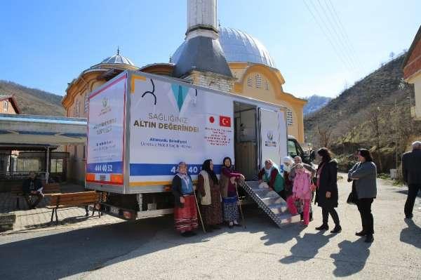 Altınordu Belediyesi, sağlığı insanların ayağına taşıyor