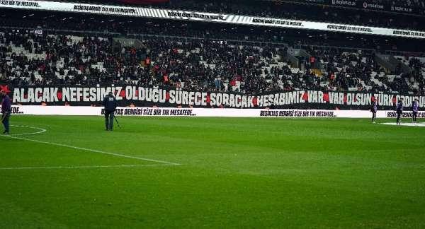 Beşiktaş taraftarından Mehmetçiğe destek