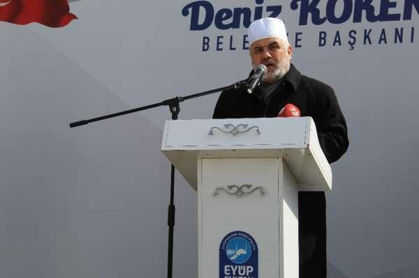 Eyüp Sultan Camii'nde İdlib şehitleri için hatim duası yapıldı