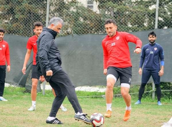 Hatayspor, BB Erzurumspor maçı hazırlıklarını tamamladı