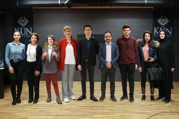 Kapadokya Üniversitesi öğrencilerine liderlik eğitimi verildi