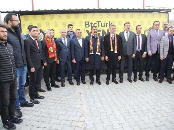 Konyaspor maçı öncesi Malatya tek yürek