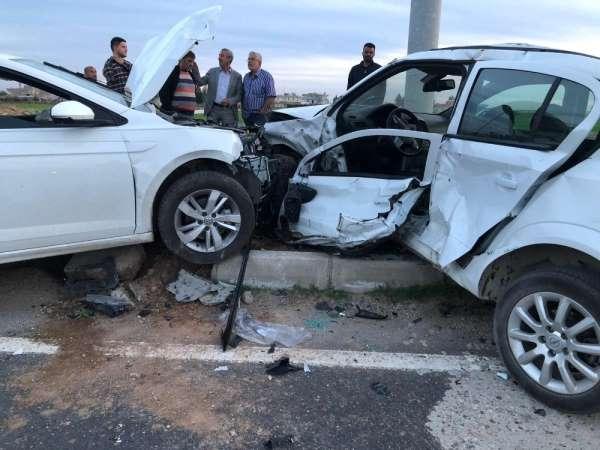Mardin'de trafik kazası: 2 yaralı