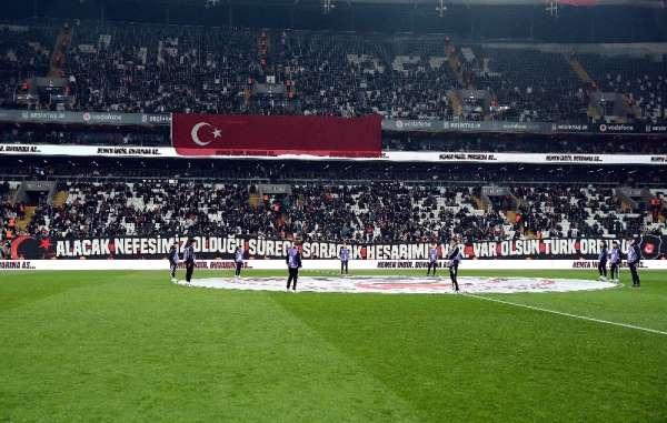Süper Lig: Beşiktaş: 1 - MKE Ankaragücü: 0 (İlk yarı)
