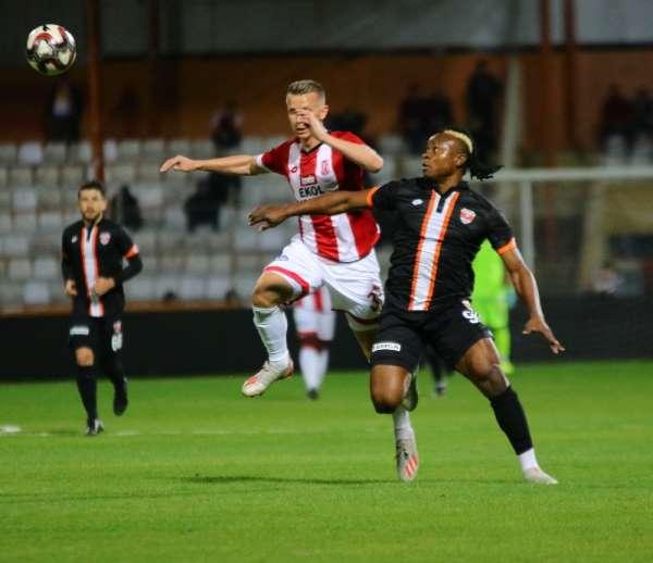 TFF 1. Lig: Adanaspor: 0 - EH Balıkesirspor: 1 (İlk yarı sonucu)