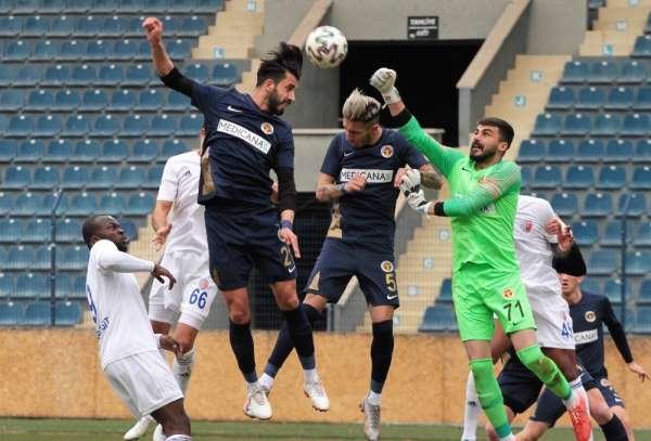 TFF 1. Lig: Ankaraspor: 1 - Menemenspor: 1