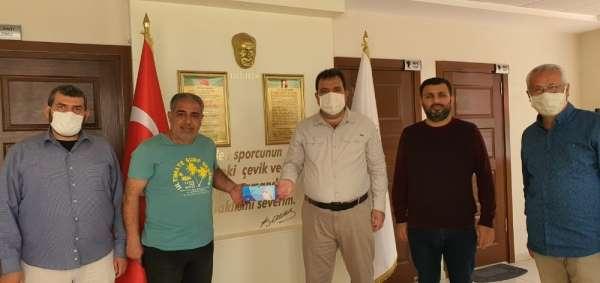 ASKF, kulüplere maske dağıtımına başladı