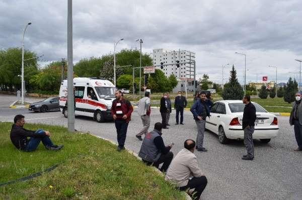 Malatya'da kaza sonrası yumruklar konuştu