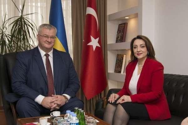 Ukrayna Büyükelçisi Andrii Sybiha'dan, ULUSKON'A yatırım çağrısı: