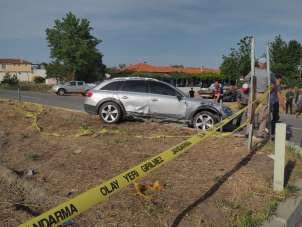 Edirne'de trafik kazası: 4 yaralı