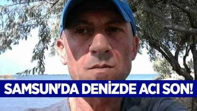 Samsun'da denizde acı son!