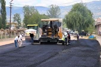 Tokat'ta asfalt seferberliği