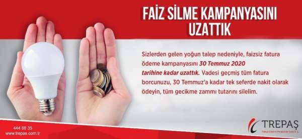 TREPAŞ, yoğun talep sebebiyle faiz silme kampanyasını uzattı