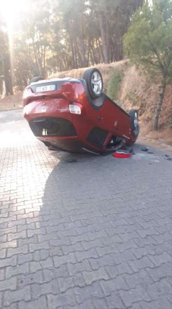 Aydın'da trafik kazası: 1 yaralı
