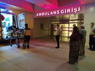 Bucak'ta trafik kazası: 4 yaralı