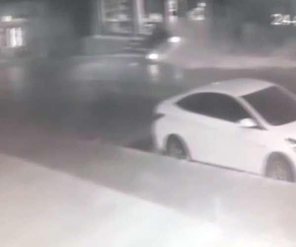 Pendik'te kaza kamerada: 1 yaralı