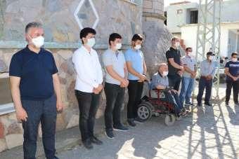 Rektör Bünyamin Şahin'in acı günü