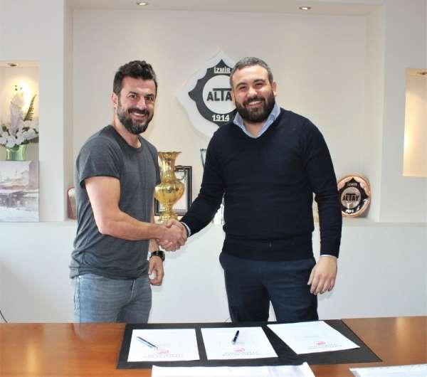 Altay'ın yeni teknik direktörü Ali Tandoğan oldu