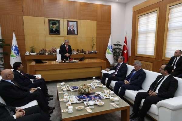 Başkan Yüce, Kazakistan Ankara Büyükelçisi Abzal Saparbekuly'u ağırladı