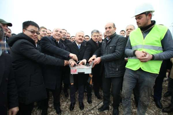 Amasya'da meyve paketleme ve soğuk hava tesisinin temeli atıldı