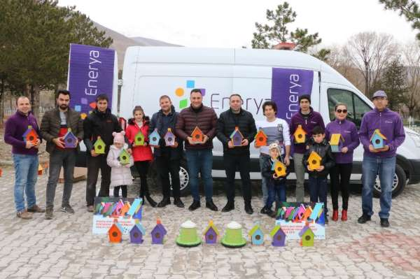 Enerya'dan sosyal sorumluluk projesi; 'Kuşlar Yuvalarına Kavuştu'