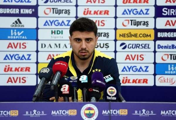 """Ozan Tufan: """"Önemli olan Fenerbahçe'de oynamak"""""""