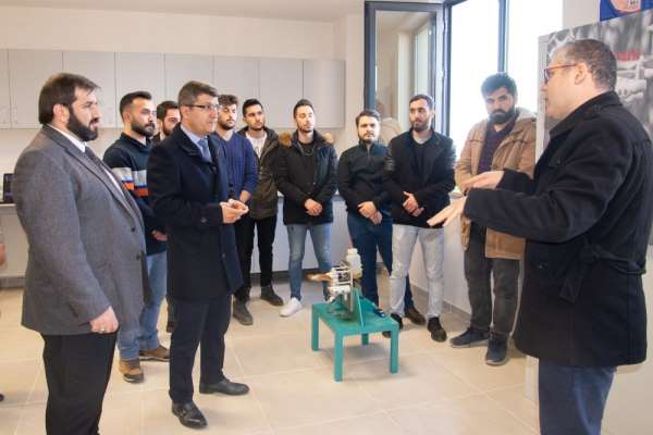 Şeyh Edebali Üniversitesinin hedefi yerli İHA motoru üretmek