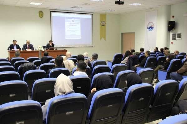 """Trakya Üniversitesi'nde """"Fuat Sezgin üzerine iki konferans"""" etkinliği"""