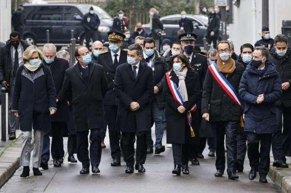 Fransada Charlie Hebdo saldırısının 6. yıldönümü için tören düzenlendi