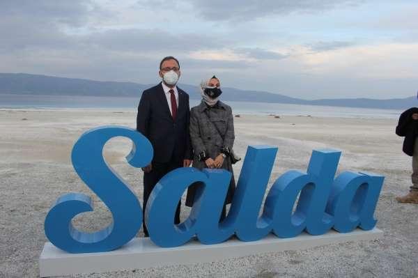 Gençlik ve Spor Bakanı Kasapoğlu: Salda Gölü bizim için önemli bir hazine