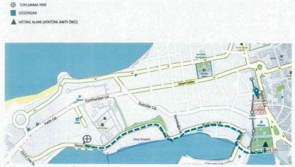 Sinopta 2021 yılı toplantı ve yürüyüş güzergahları belirlendi