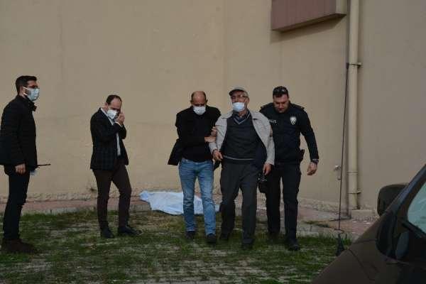 Sinopta 8. kattan düşen emekli öğretmen öldü
