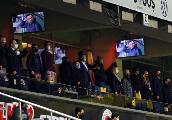 Süper Lig: Fenerbahçe: 1 - Alanyaspor: 0 (Maç devam ediyor)