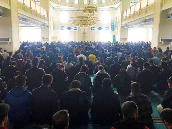 Bayburt Üniversitesi öğrencilerinden mevlit programı