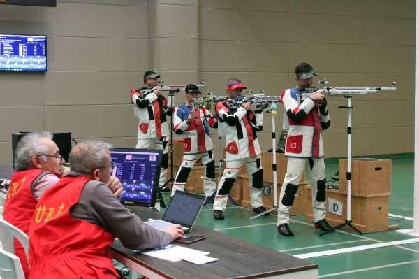 Havalı Silahlar Türkiye Şampiyonası heyecanı sürüyor
