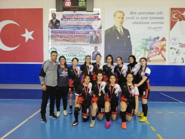 Isparta Spor Liseli Sultanlar, grup birincisi oldu
