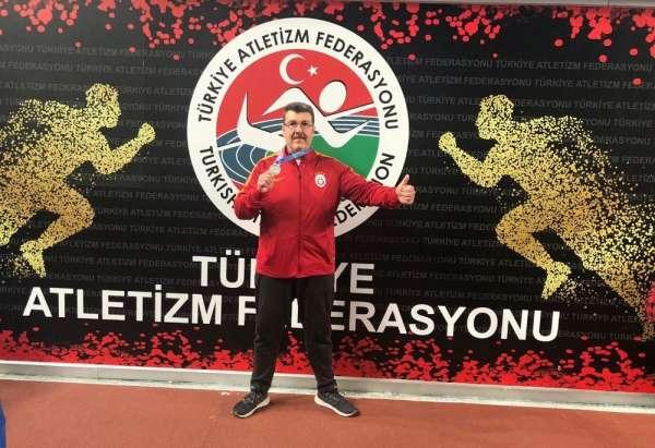 Milli judocu Murat Olcay atletizmde fırtına gibi esti