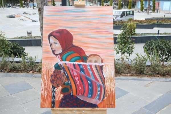 Suluova'da Kadınlar Günü'ne özel sergi