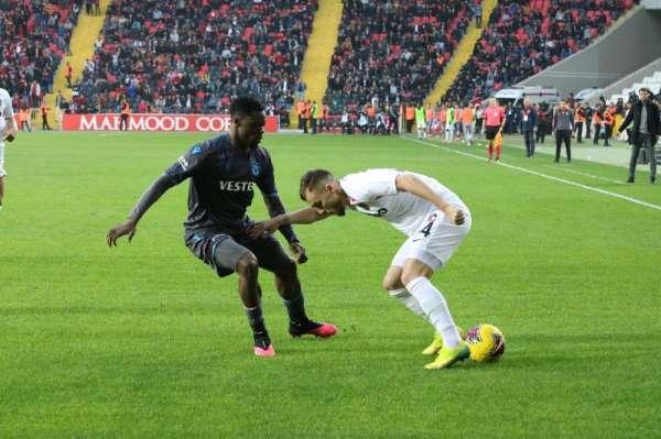 Süper Lig: Gaziantep FK: 1 - Trabzonspor: 1 (Maç sonucu)