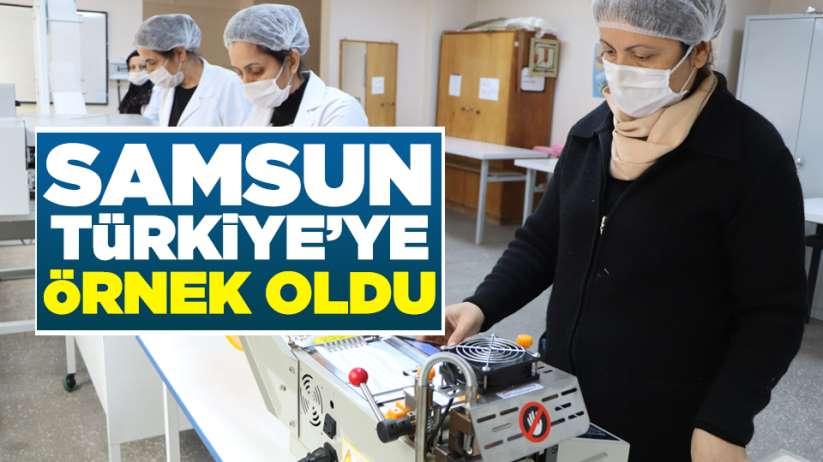 Samsun Türkiye'ye örnek oldu