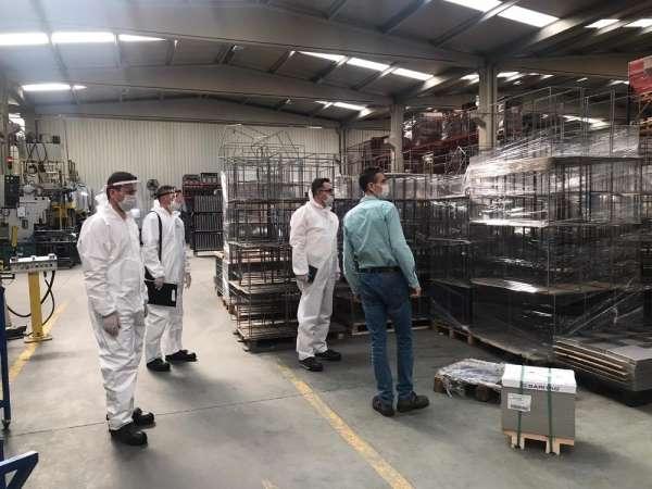 Covid-19 tedbirleri kapsamında fabrikalardaki denetimler devam ediyor