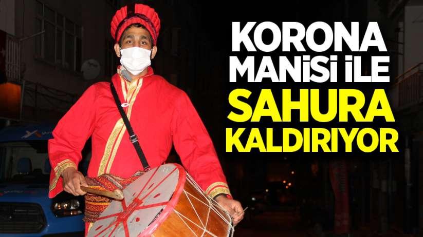 Samsun'da 'Korona manisi' ile sahura kaldırıyor