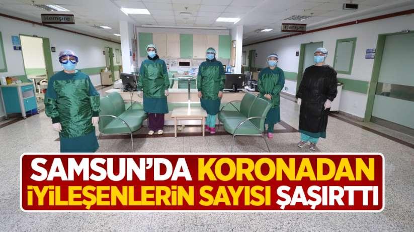 Samsun'da koronadan iyileşenlerin sayısı şaşırttı